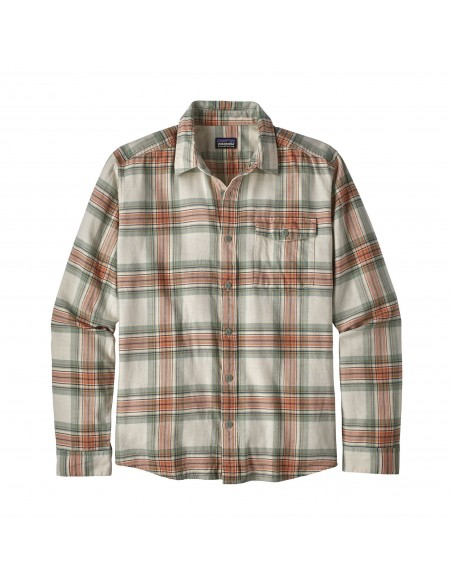 Men's LONG SLEEVED LIGHTWEIGHT FJORD FLANNEL SHIRT - Patagonia