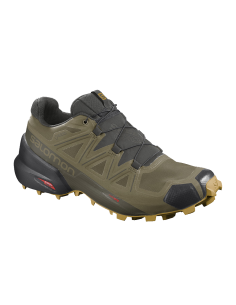 Salomon - SPEEDCROSS 5 GTX -  Martini olive / Peat / Arrowwood