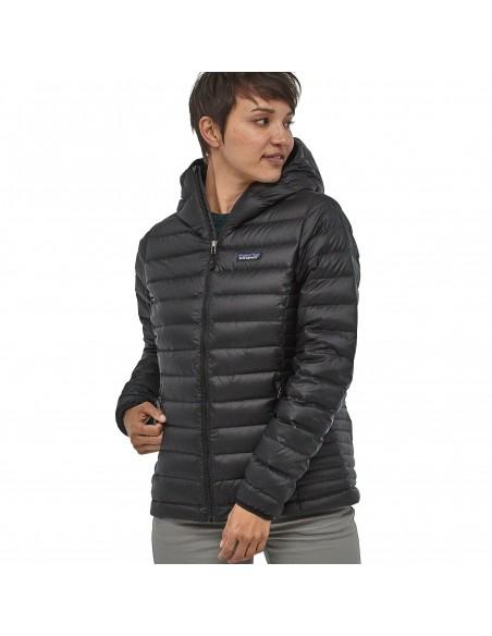 Patagonia Women's Down Sweater Hoody - Black